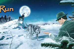 Win a share of £€15K at the new MegaJackpots Wolf Run slot