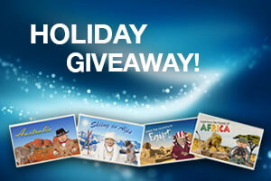 Join bgo Casino Holiday Giveaway promo to get a £2,000 voucher