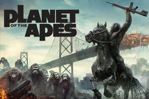 The Planet of the Apes franchise by Netent